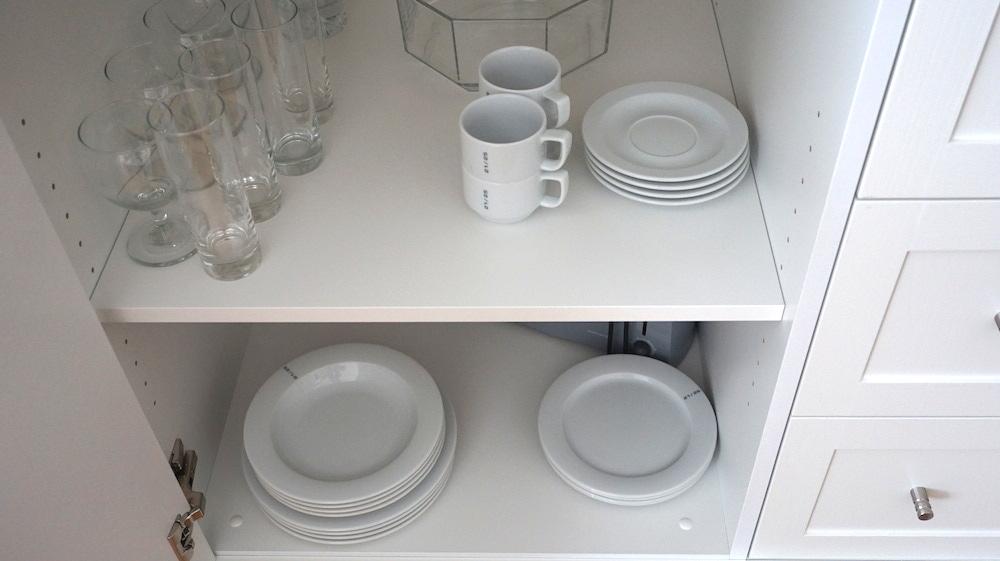 ウィーンおすすめアパート写真 食器3