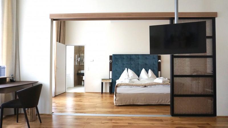 ウィーンおすすめホテル ベッドルーム