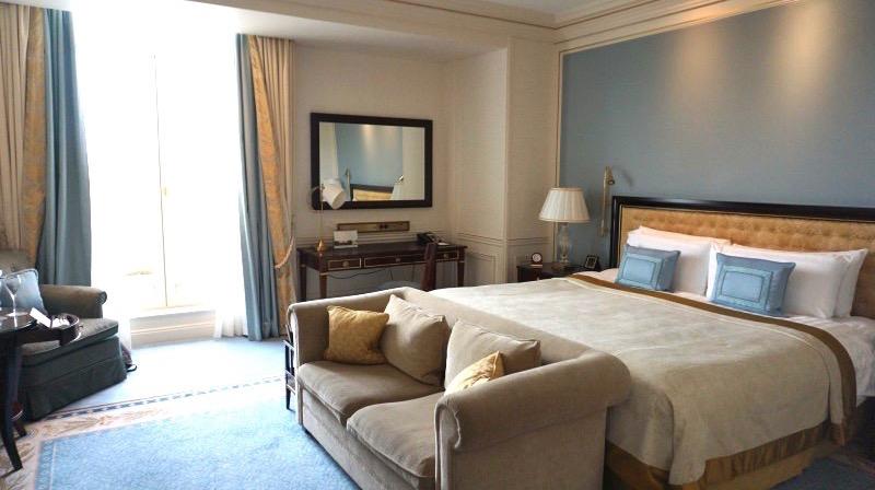 「ここが一番好き!」と夫婦の意見がまとまったシャングリラホテルの内装。