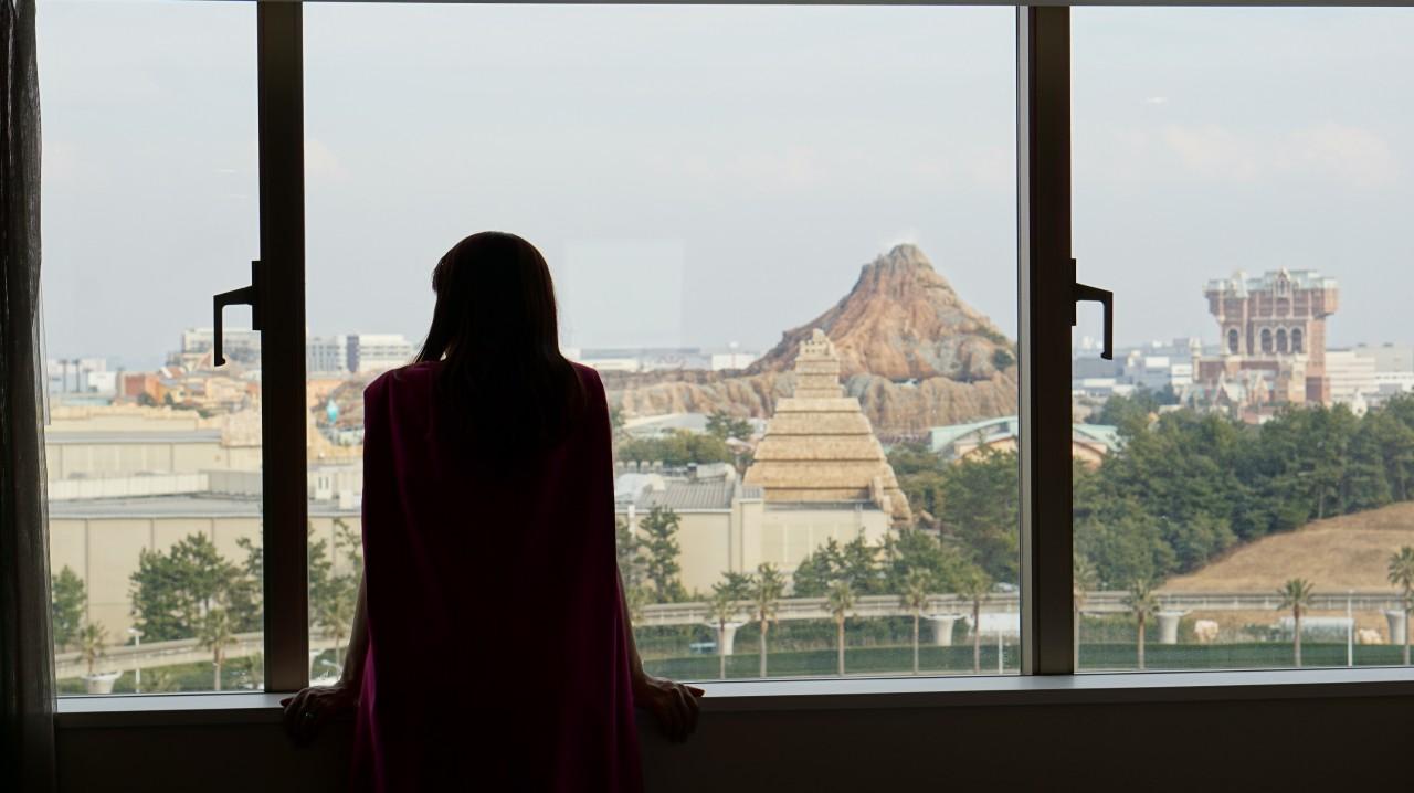 窓の眺め:シェラトン・グランデ・トーキョーベイ・ホテル(Sheraton Grande Tokyobay Hotel)の新客室「PARK WING ROOM(パークウイングルーム)」